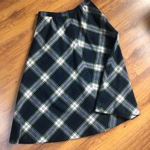 Fab Vintage Pendleton Wool Skirt Size 6